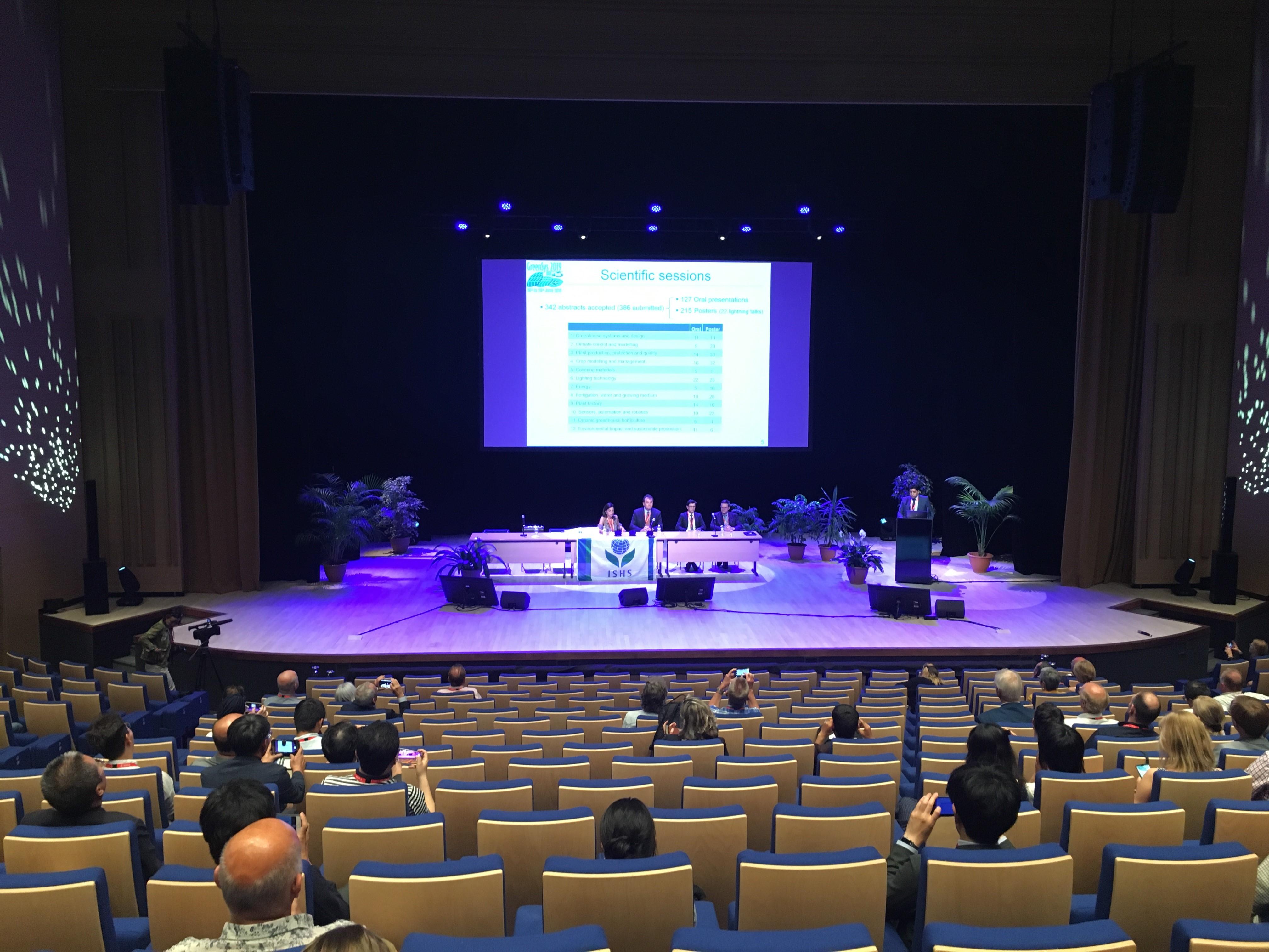 Congrès Greensys - Présentation IHC