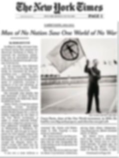 Garry Davis in the New York Times