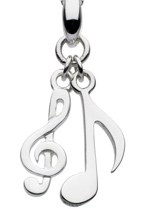 Silver Melody Musical Pendant