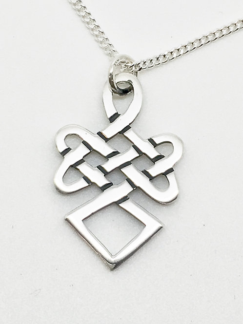 Sterling silver Celtic pendant no 14