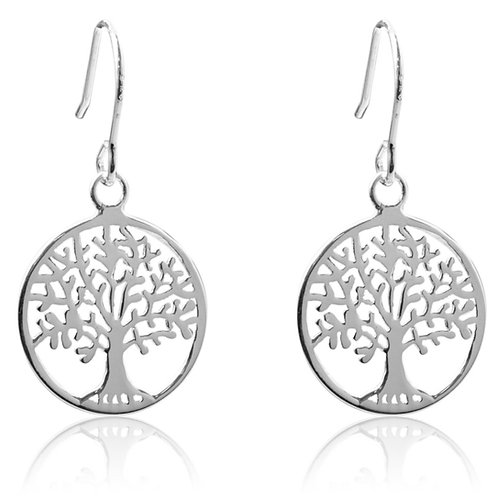 Earrings Tree Of Life Drop