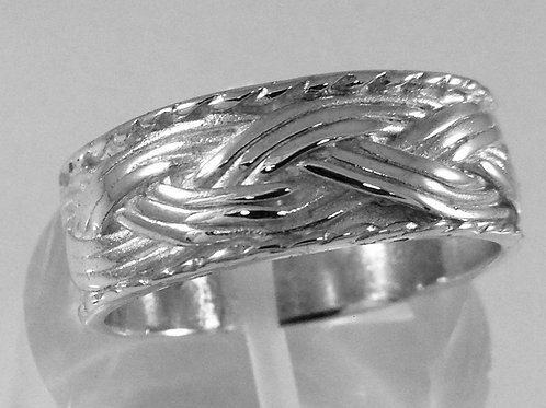 Sterling Silver Turks Head Ring