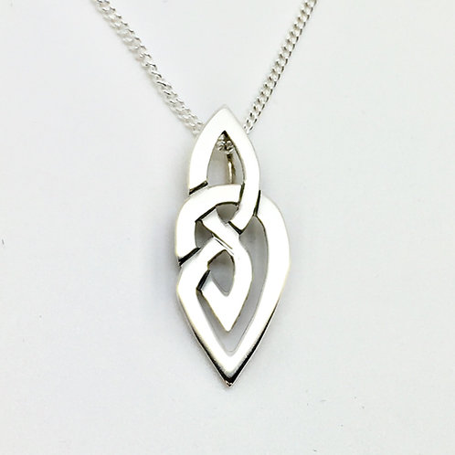 Sterling silver Celtic pendant no 5