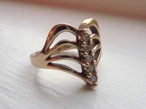 dia set ring