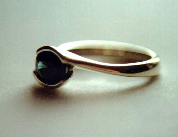 sap white gold ring