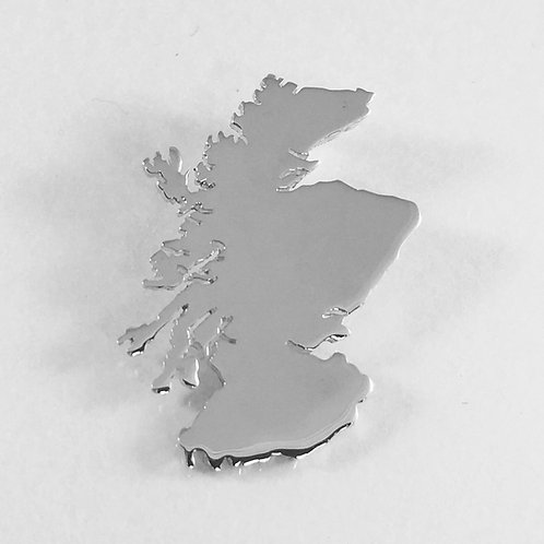 sterling silver scotland pendant/ pin Badge