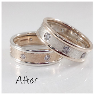 customer ring remodelled