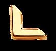 Angolo di Metallo Semplice Oro - Tesi Artigianali Pisa