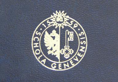 Logo Università di Ginevra Cliché Tesi di Laurea - Tesi Artigianali Pisa
