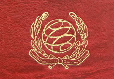 Logo Università degli Studi Guglielmo Marconi Roma Cliché Tesi di Laurea - Tesi Artigianali Pisa