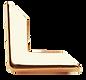 Angolo di Metallo Semplice Argento - Tesi Artigianali Pisa