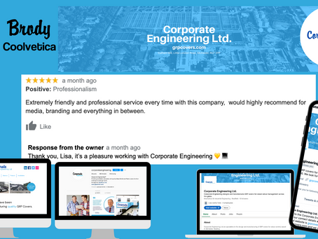 Complete Rebrand - Corporate Engineering Ltd.