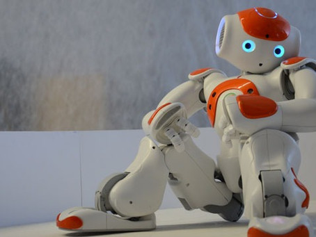 A Day Out With Chip – The Robot!