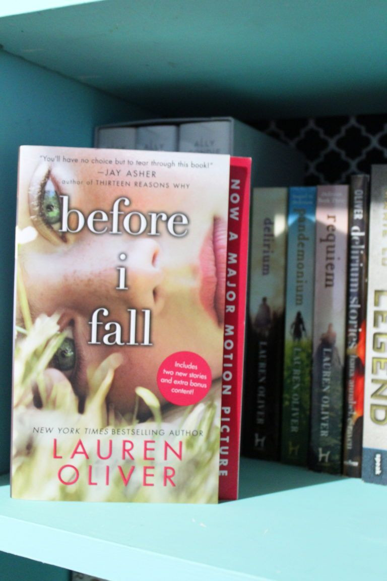 Before I Fall _ Book Review - Madisyn's Story