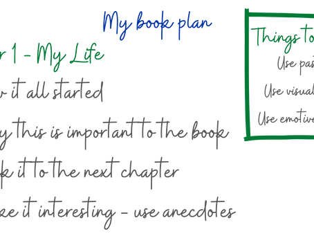 How to plan a book from scratch
