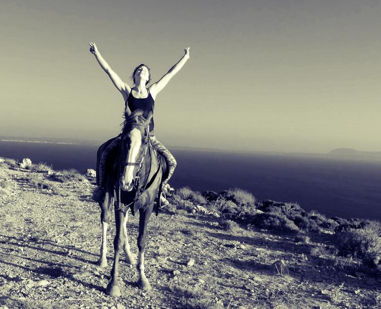 Freiheit mit Pferd