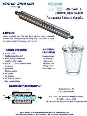 Plaquette E-Acti'water 2020 EN
