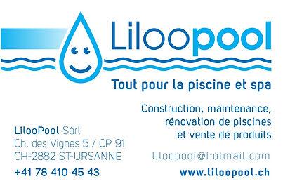 carte de visite LilooPool