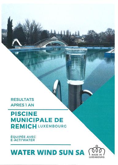 Piscine publique Remich au Luxembourg