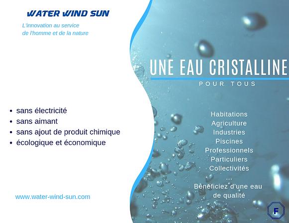Brochure E-Acti'water, traitement d'eau innovant, économique et écologique !
