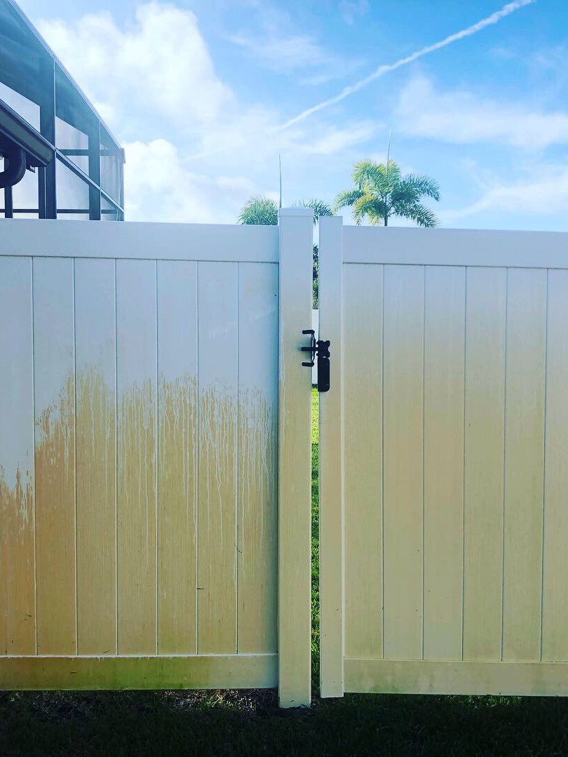 Hard water stain removal Melbourne FL