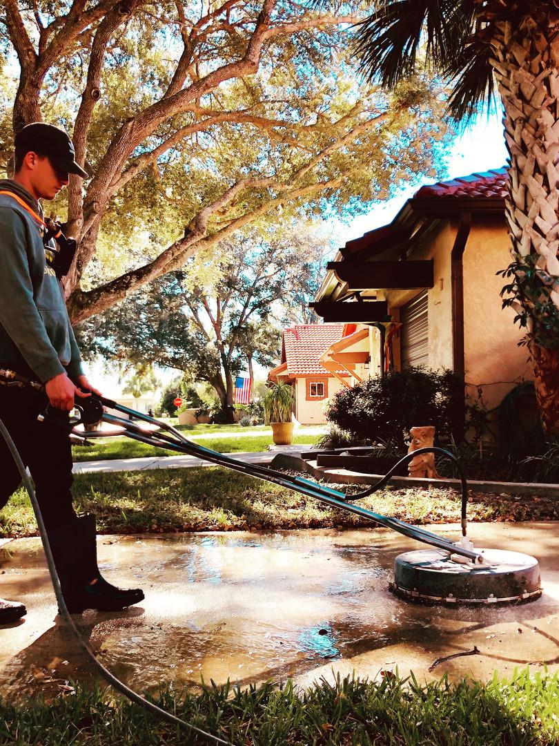 Pressure cleaning Melbourne FL