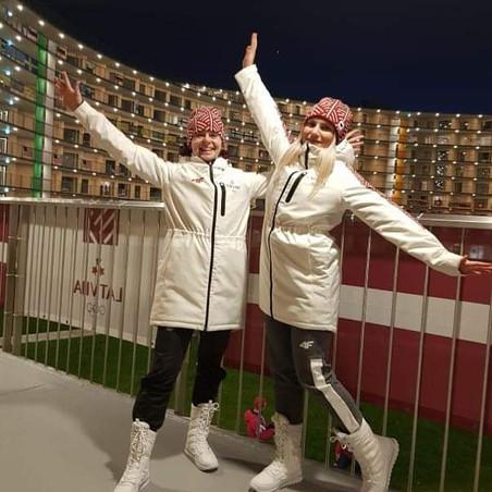 Signe Miķelsone piedalās Jaunatnes ziemas Olimpiskajās spēlēs