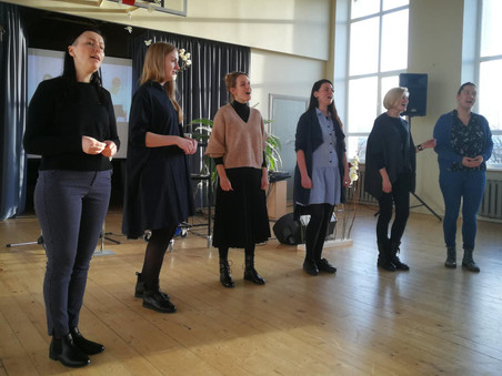 """Par godu Cēsu arodu skolas 100 gadu jubilejai """"Latvian Voices"""" koncerts"""