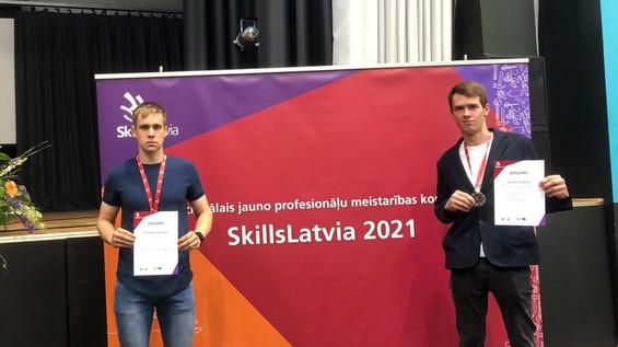 Jauno profesionāļu meistarības konkursa laureātu vidū arī mūsējie