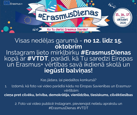 Erasmus+ diena VTDT