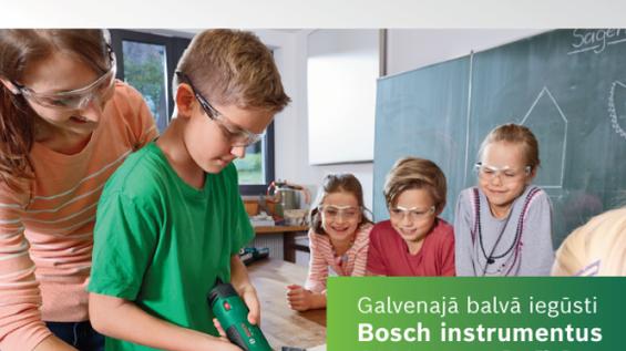 """DA18 grupas jaunieši piedalās prasmju konkursā """"Apgūsti prasmes ar Bosch"""""""