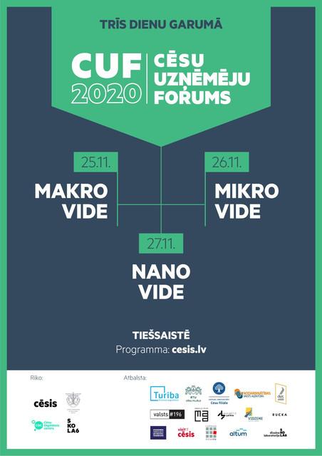 Cēsu uzņēmēju forums 2020