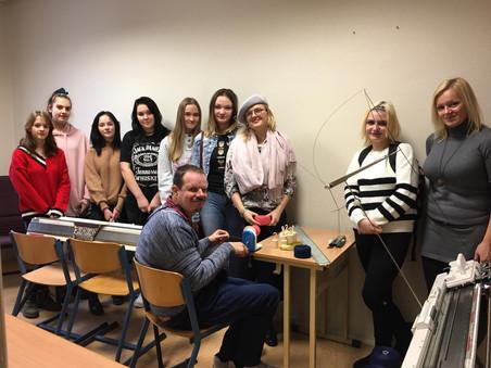 Jaunie dizaineri smeļas iedvesmu Siguldā