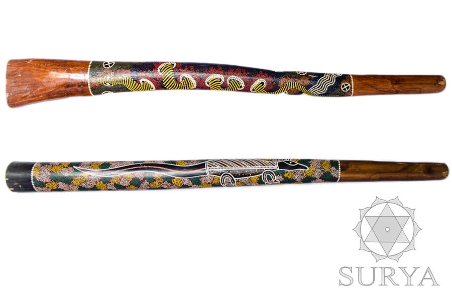 Teak didgeridoos