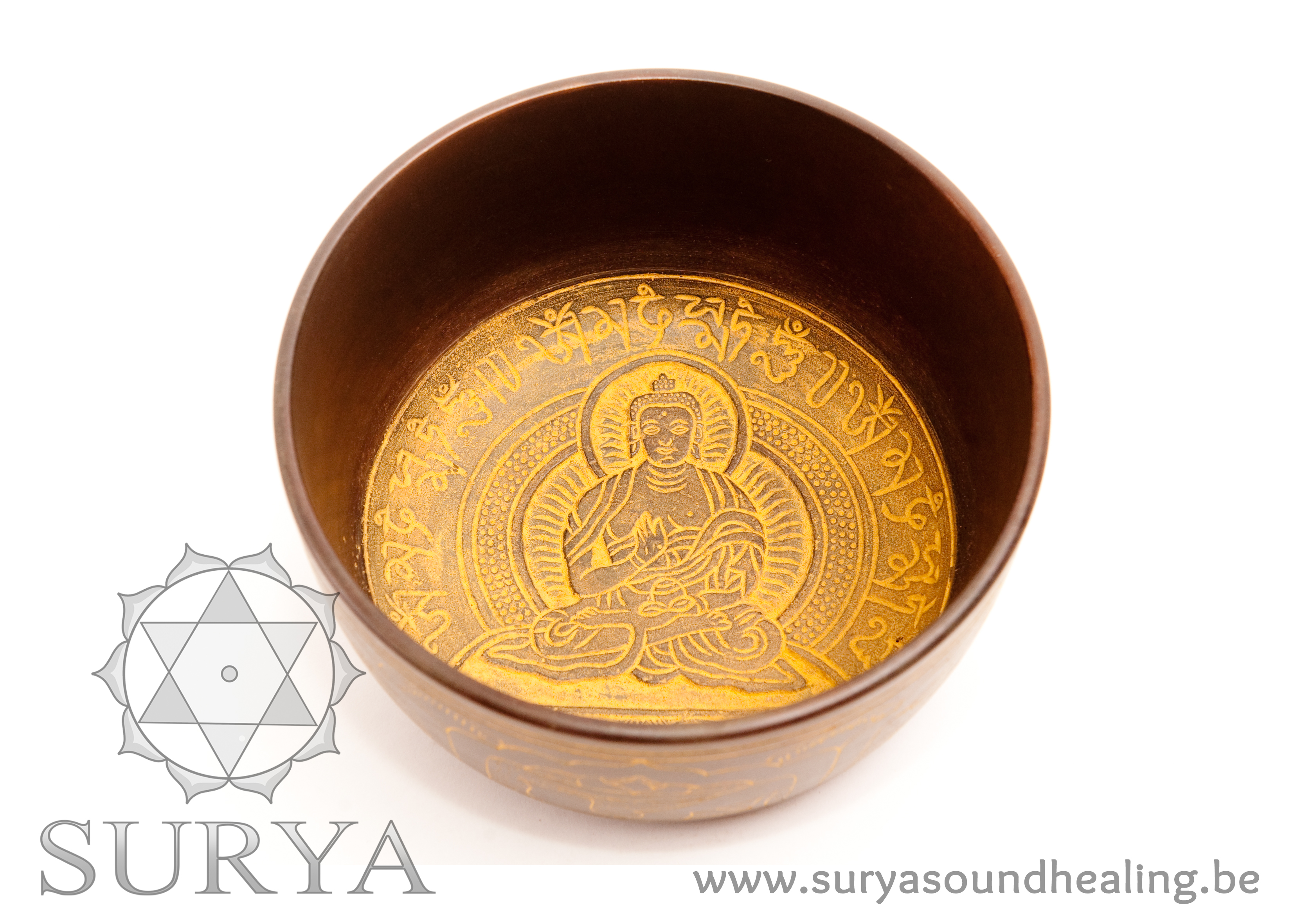 Gele Klankschaal Boeddha