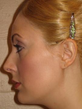 Glinda wig closeup