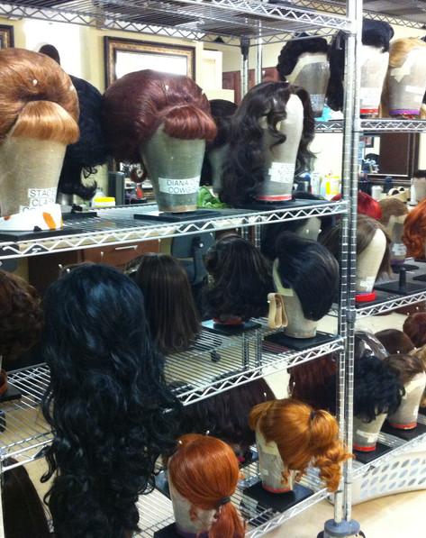 Wig Styling for Viva Elvis, Cirque du Soleil