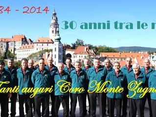 """Concerto del Coro """"Monte Zugna""""       7 ott. 2017"""