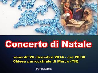Concerto di Natale 26  Dic. 2014
