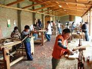 San Nicolas, una scuola nel territorio del Cotopaxi, tra i vulcani dell'Ecuador