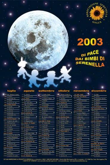2003 secondo semestre