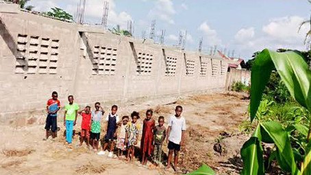 Una scuola in ricordo di Giuliano - Kinshasa