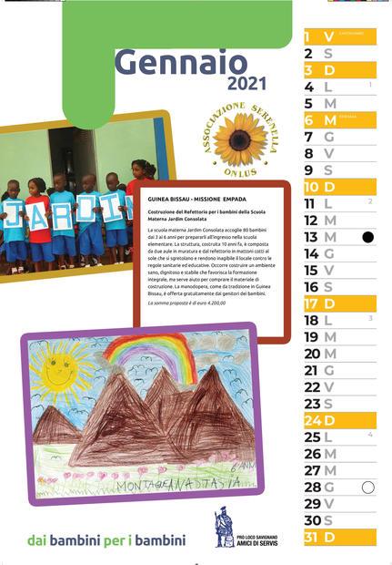 2021 dai bambini per i bambini gennaio