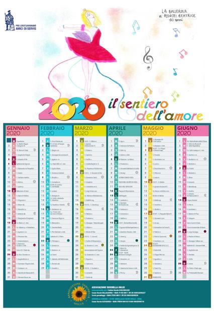 2020 Il sentiero dell'amore - primo semestre