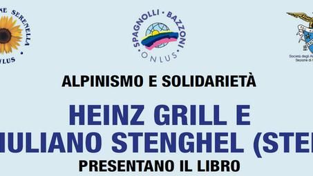 ANTICIPO SERATA HEINZ GRILL E GIULIANO STENGHEL    05 nov. 2017