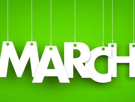 March 1, 2020 Bulletin