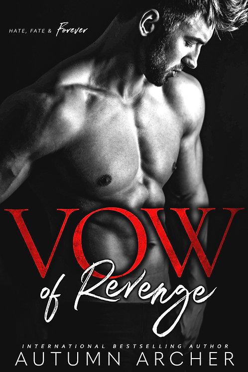 Vow of Revenge Signed Paperback