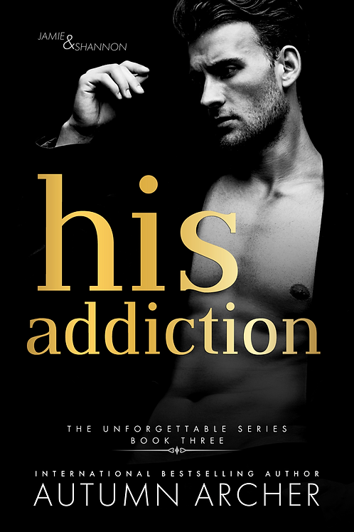 His Addiction Signed Paperback