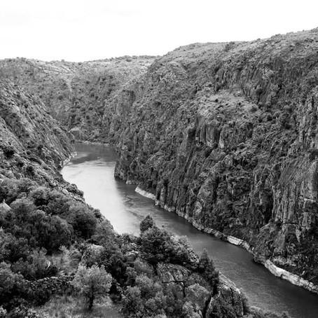 Sur les sentiers du fleuve frontière.
