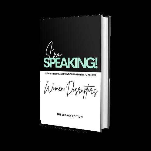 Book: I'm Speaking